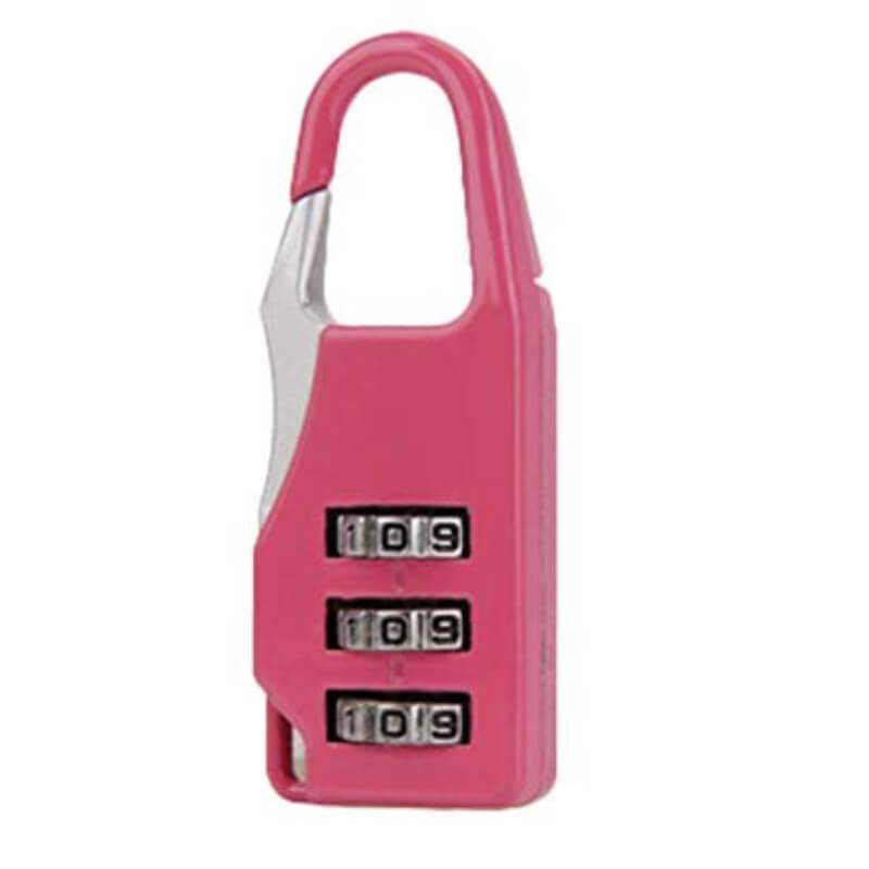 Three Digit Combination Safe Luggage Padlock - Pack of 2