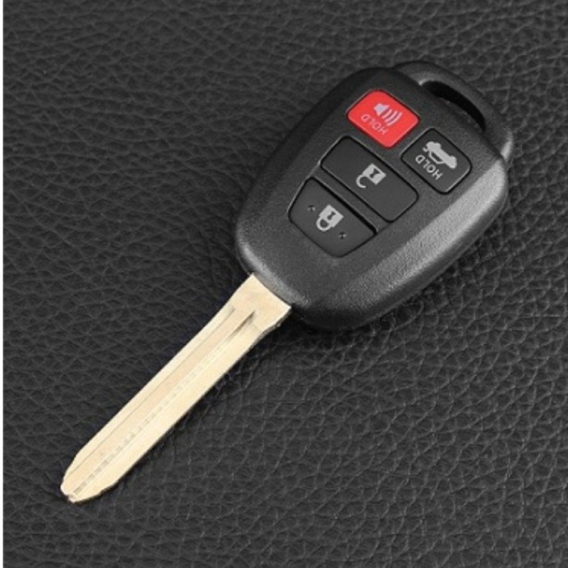 4 Buttons Remote Car Key Shell Case Fob