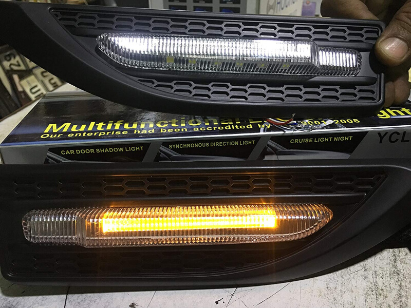 Car Multifunctional LED Side Light