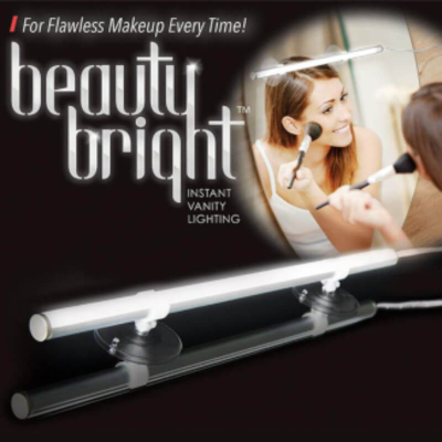 Beauty Bright Instant Vanity Lighting For Flawless Makeup