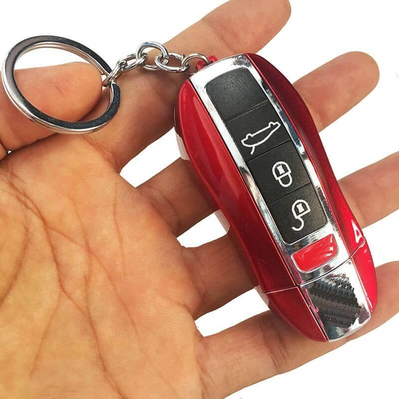 Car Key Butane Gas Inflatable Jet Flame Cigarette Lighter