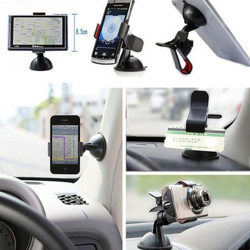 Smartphone Windshield Dashboard holster desk mount