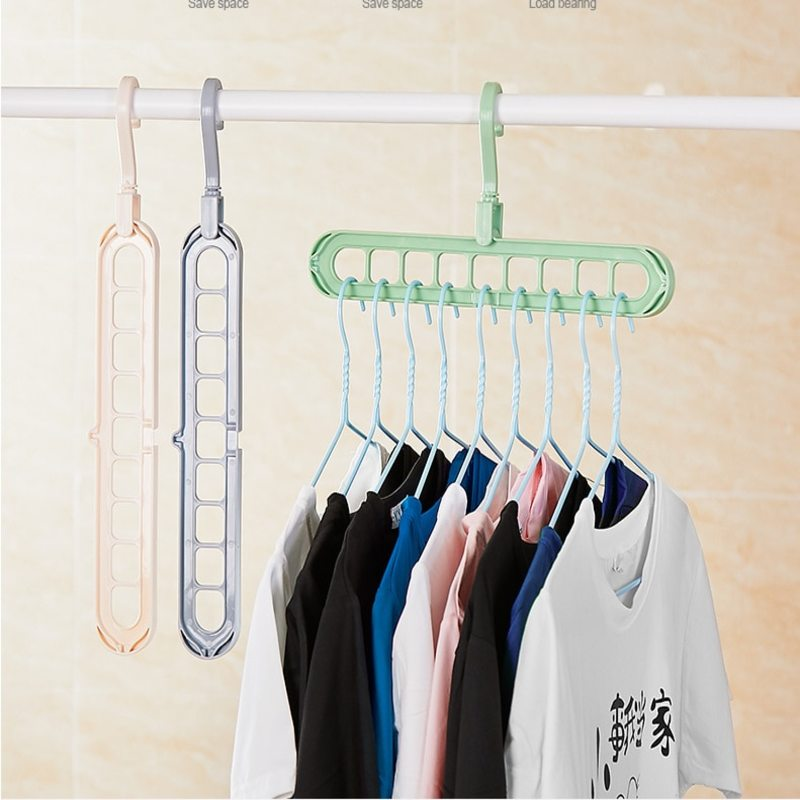 Space Saving Plastic Storage Clothes Hangers