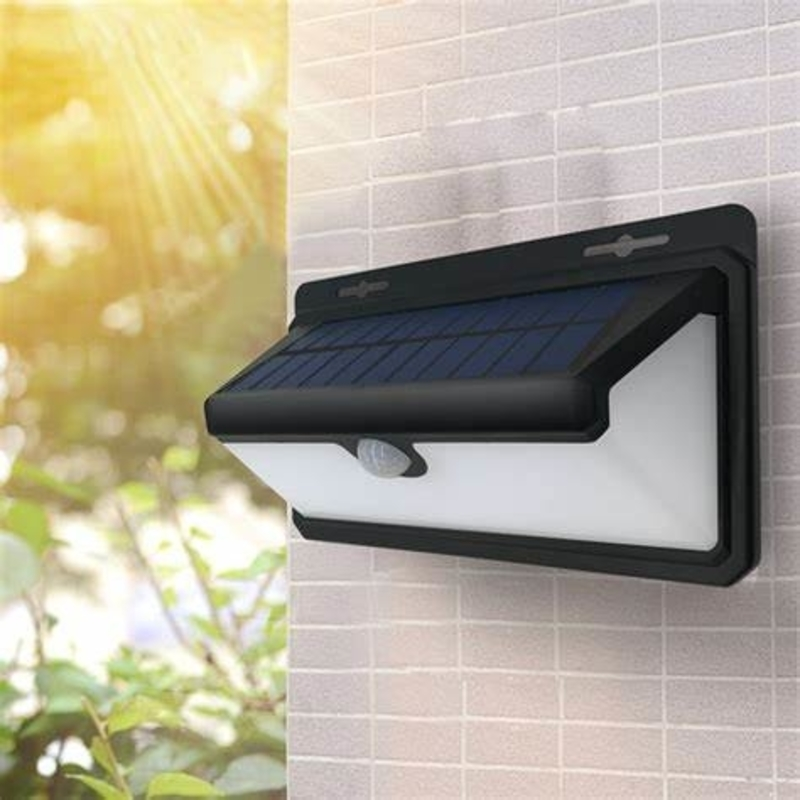 Solar Powered Outdoor Motion Sensor Security LED Lights