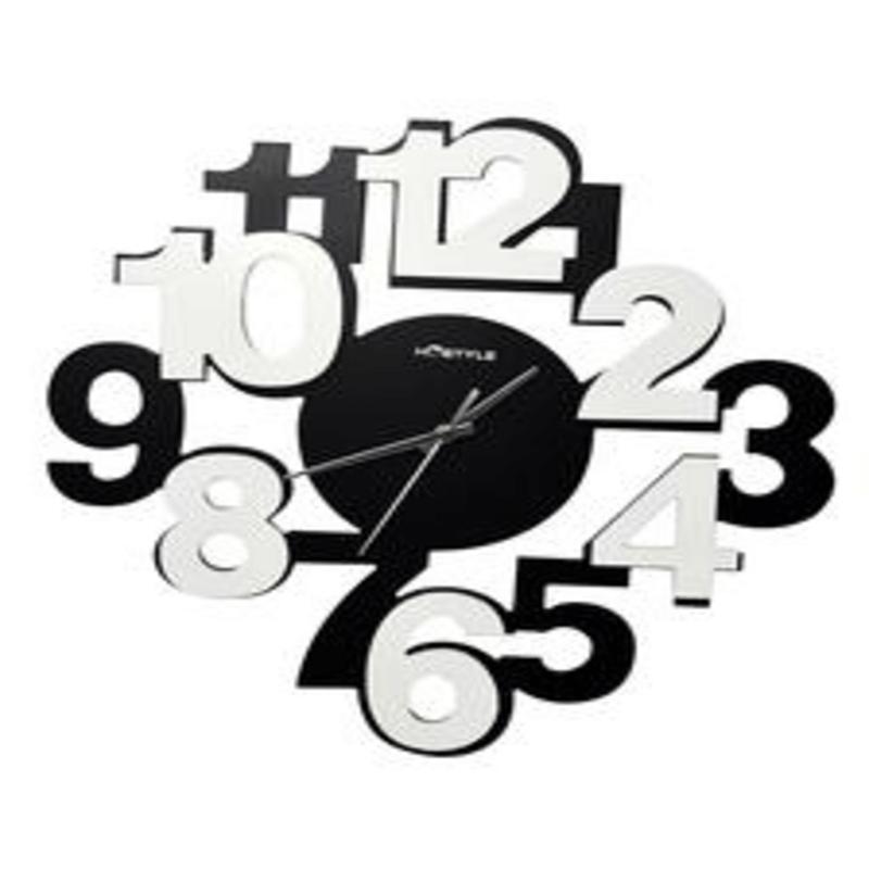 modern-funky-black-white-wall-clock