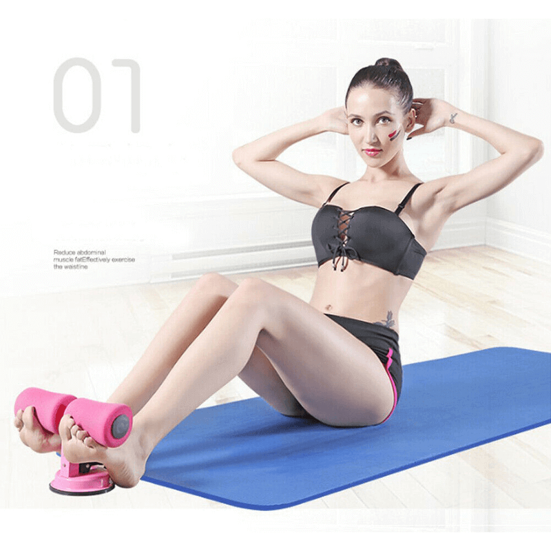 Self-Suction Sit-Up Bars Abdominal Fitness
