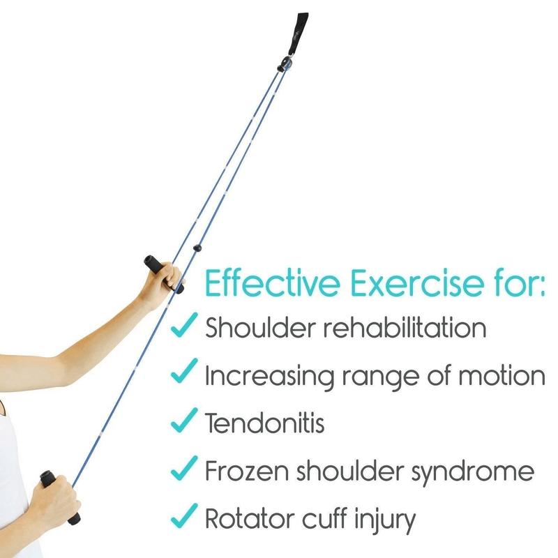 Shoulder Pulley Over-Door Rehab Exercise