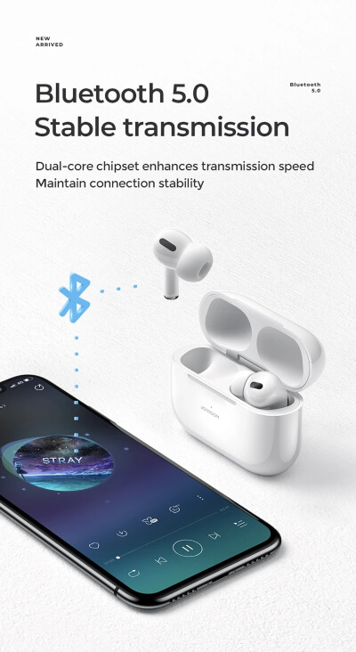 JOYROOM PRO JR-T03 TWS WIRELESS EARBUDS (ORIGNAL)