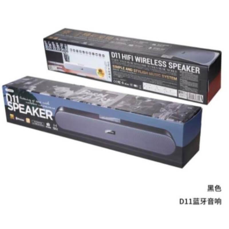 Remax D11 Bluetooth Speaker Long Bar