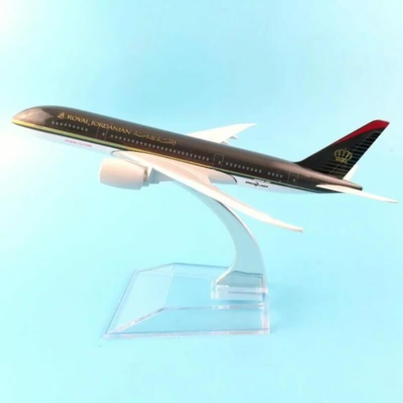 Metal Airplane - Royal Jordanian