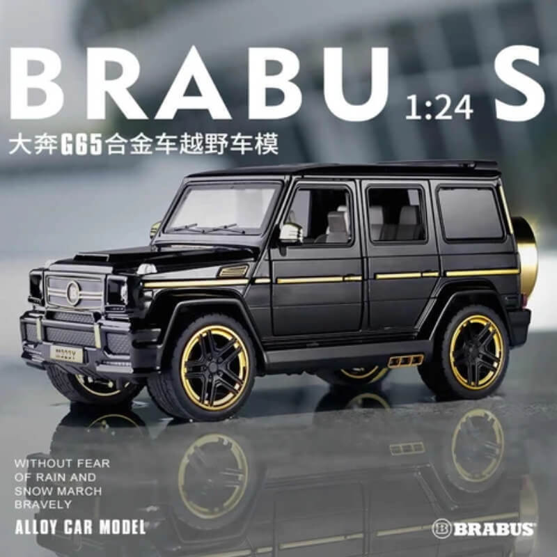 Metal Body Mercedes-benz Brabus G65 Light And Sound