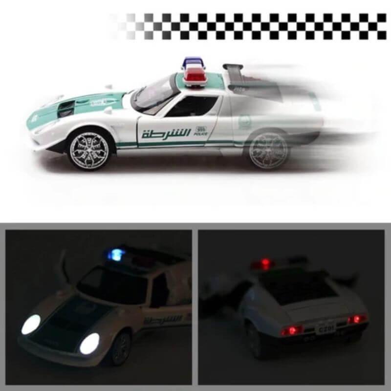 Diecast Miura Concept 1965 Police