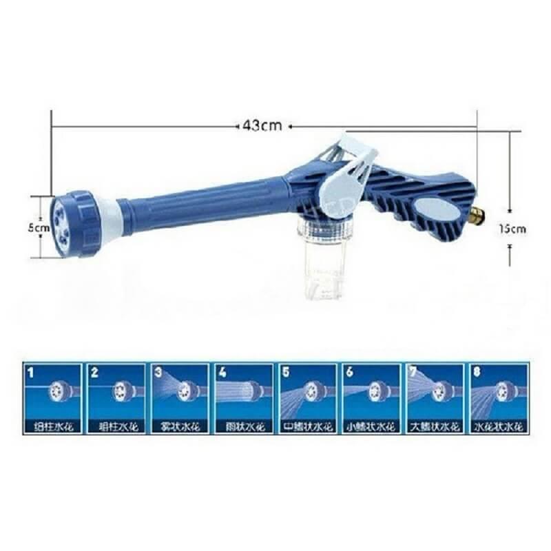 8 Nozzle Ez Jet Water, Cannon Dispenser Pump, Auto Washer