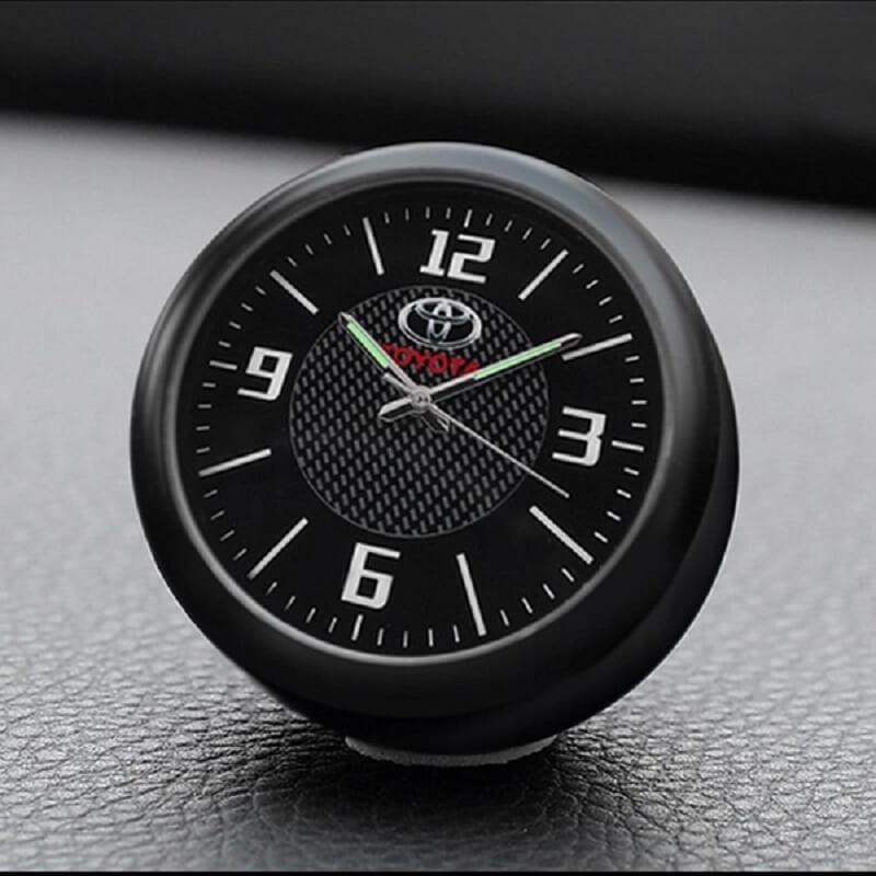 Car interior Decoration Clock Watch For Toyota