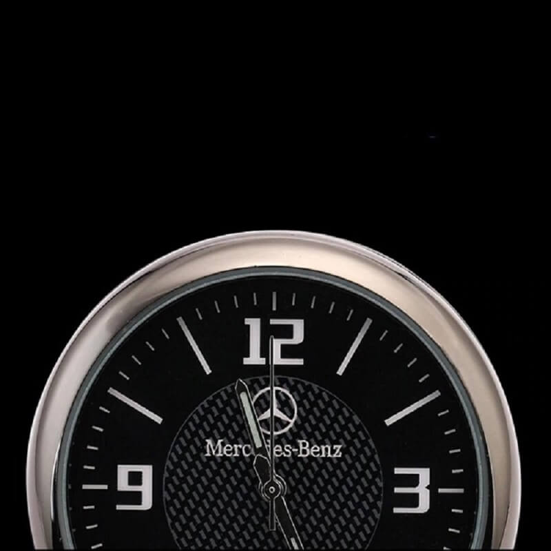 Automobile Styling Luminous Clock For Mercedes Benz