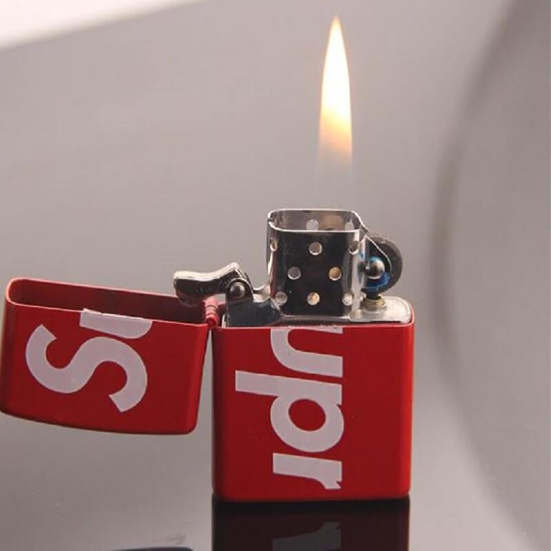 Red Matte Supreme Lighter