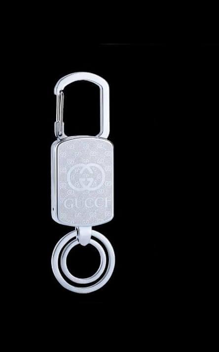 gucci-key-chain-lighter-silver