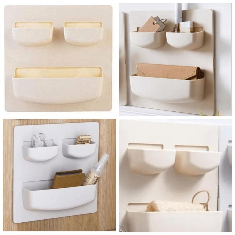wall-rack-sticky-hanging-shelves-plastic-holder