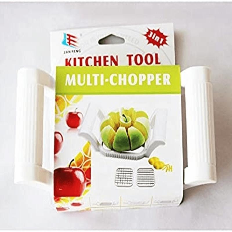 3 IN 1 MULTI-CHOPPER FRUIT & VEGETABLE SLICER