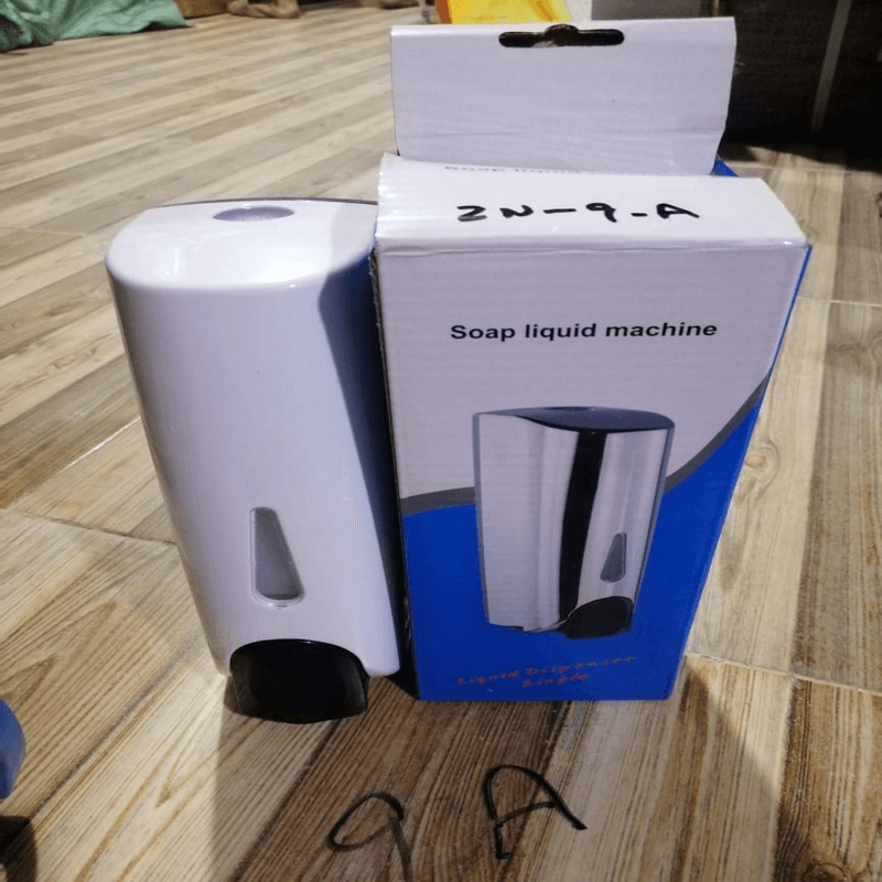 surface-mounted-manual-soap-dispenser