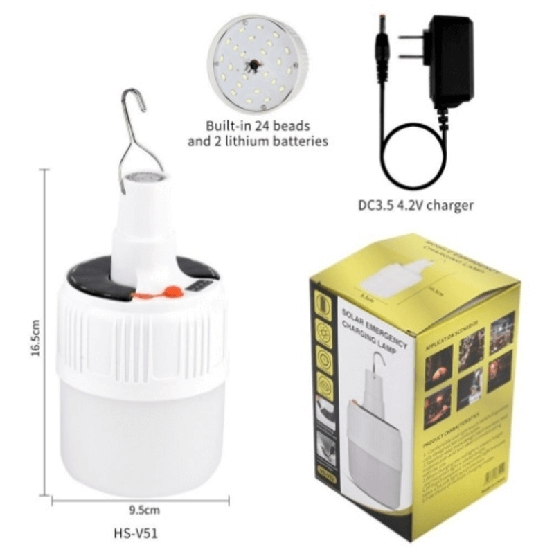 Led Emergency Rechargeable Bulb