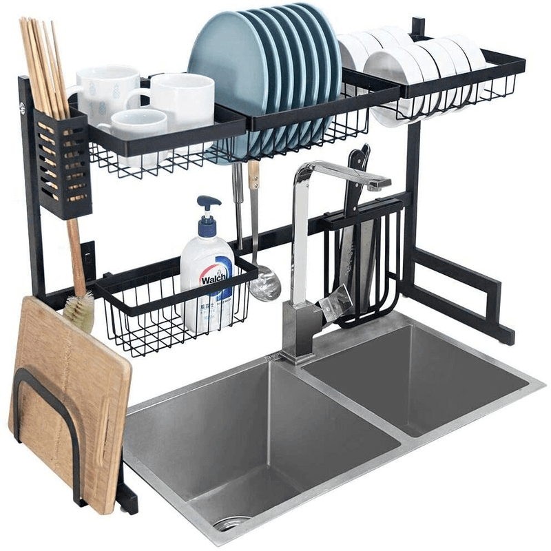 Over The Sink Dish & Utensils Drying Rack