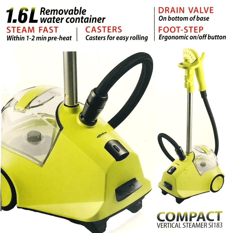EFFELINE compact vertical steamer