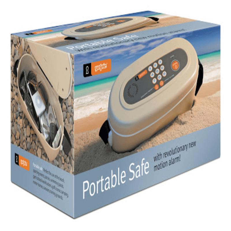 Portable Safe With Revolutionary Motion alarm