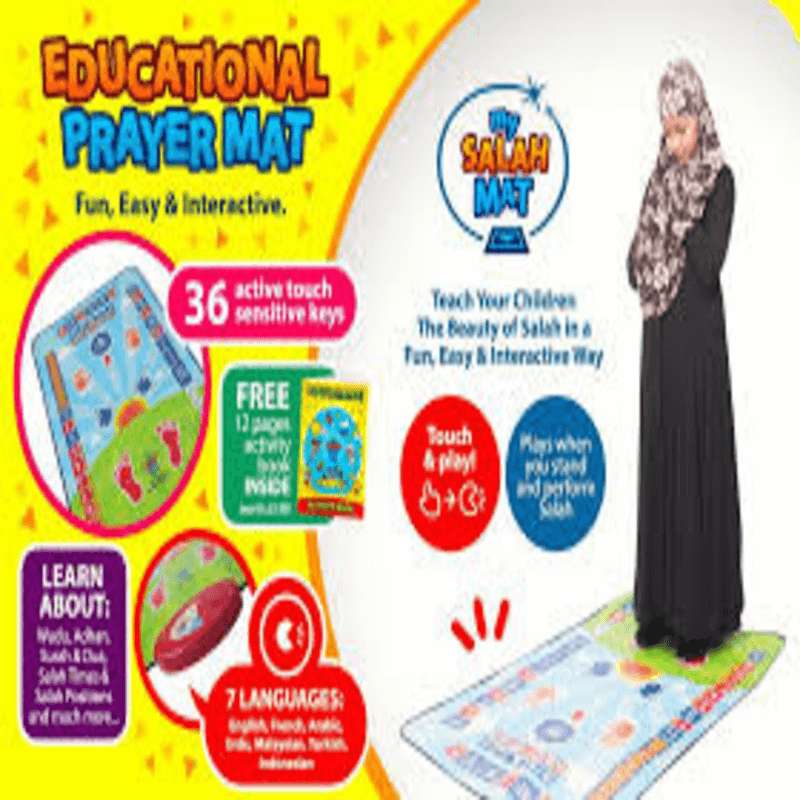 My Salah Mat Educational Prayer Mat For Kids
