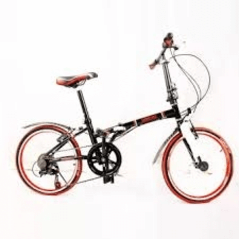 WAGEI-6-gears-foldable-adult-bicycle-red