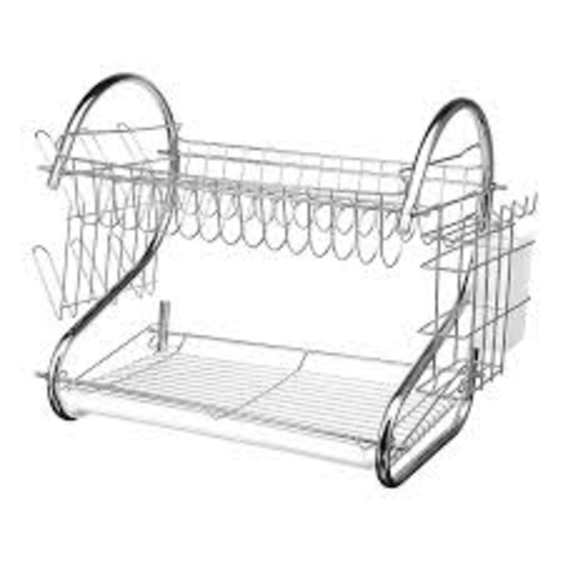 2-tier-dish-utensils-drainer-with-board