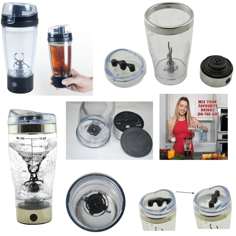 Tornado Electric Protein Juice Shaker and Blender450 ml