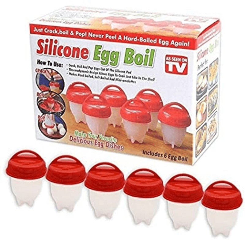 Egg Cooker - Silicone Egg Poachers