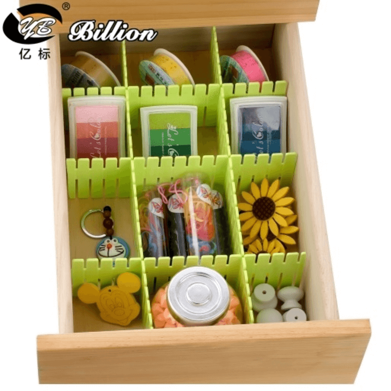 Multicolor Drawer Dividers