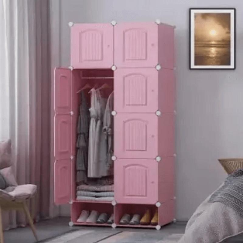 8-DIY-Door-Wardrobe-Pink