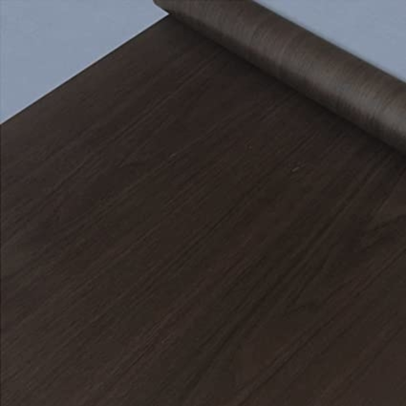 Self Adhesive Furniture Sticker (Wood Dark Brown)