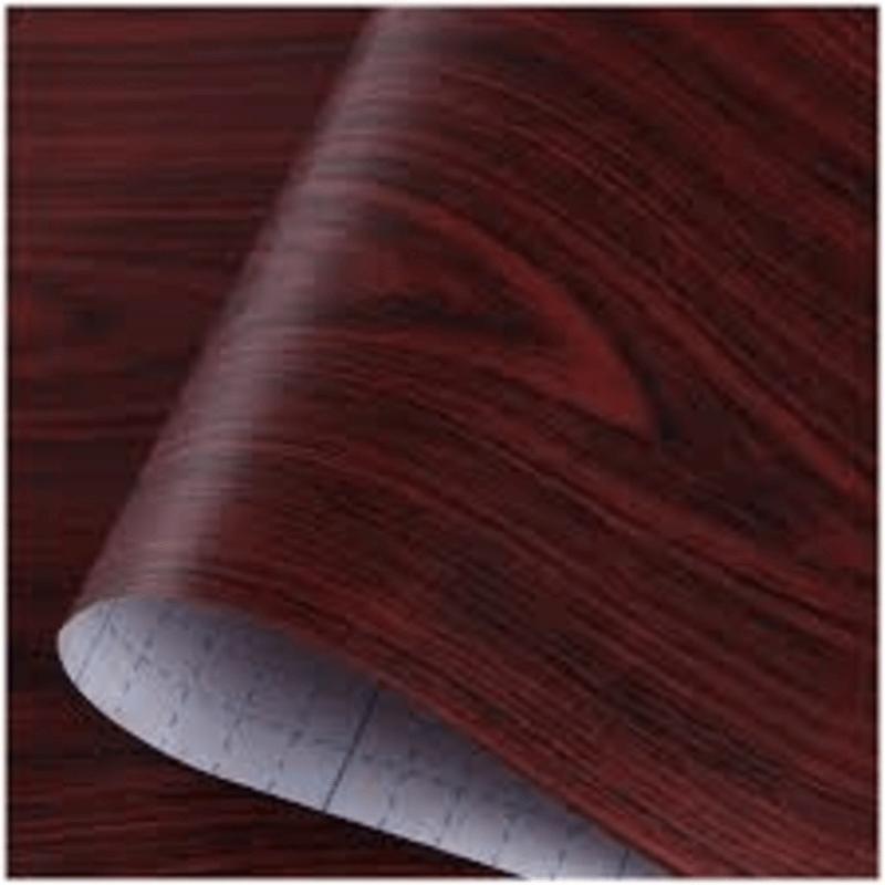 self-adhesive-furniture-sticker-maroon-wood