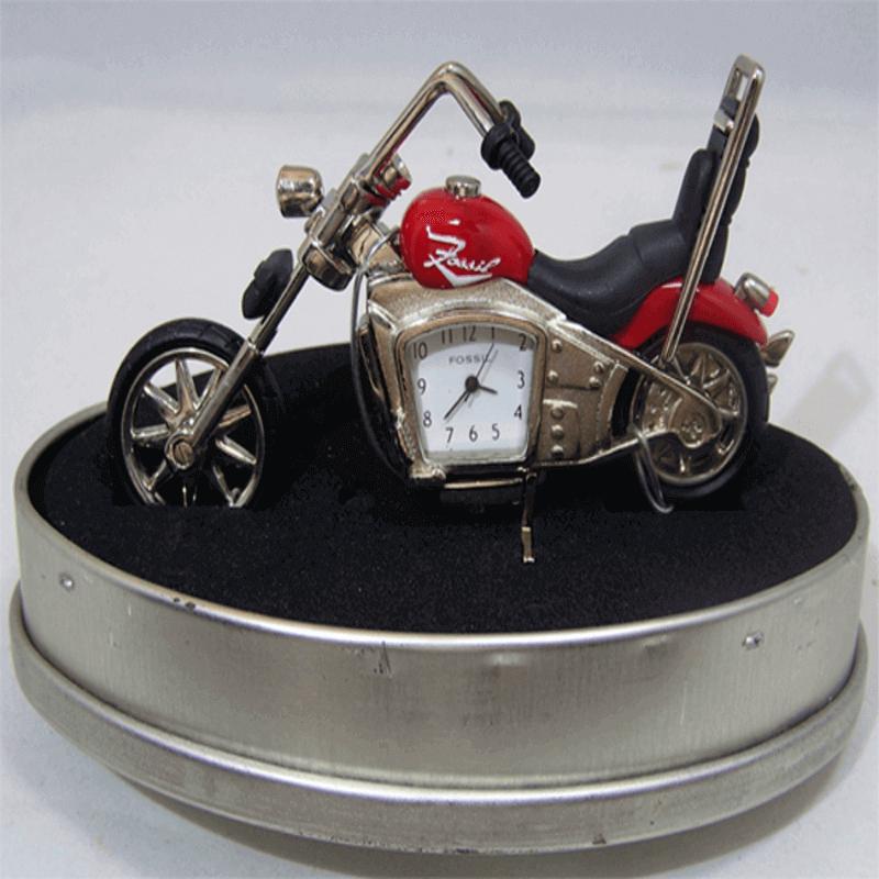 fossil-brand-antique-harley-davidson-bike-clock-metal-red