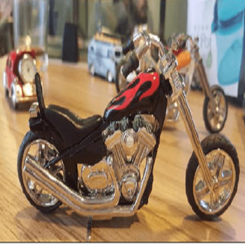 fossil-brand-antique-chopper-bike-clock-metal-black-fire