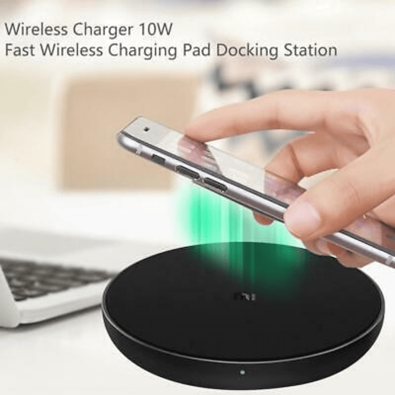 Xiaomi QI Wireless Charger 10W Fast Wireless Charging Pad Docking Dock Station