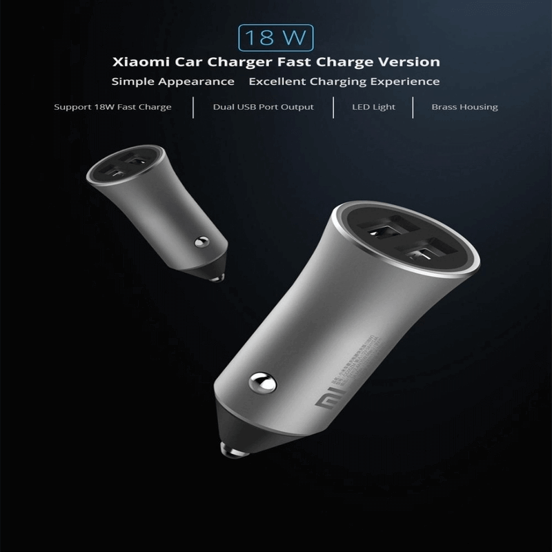 Xiaomi-Mi-car-charger-pro-18w-fast-charger-car-charger