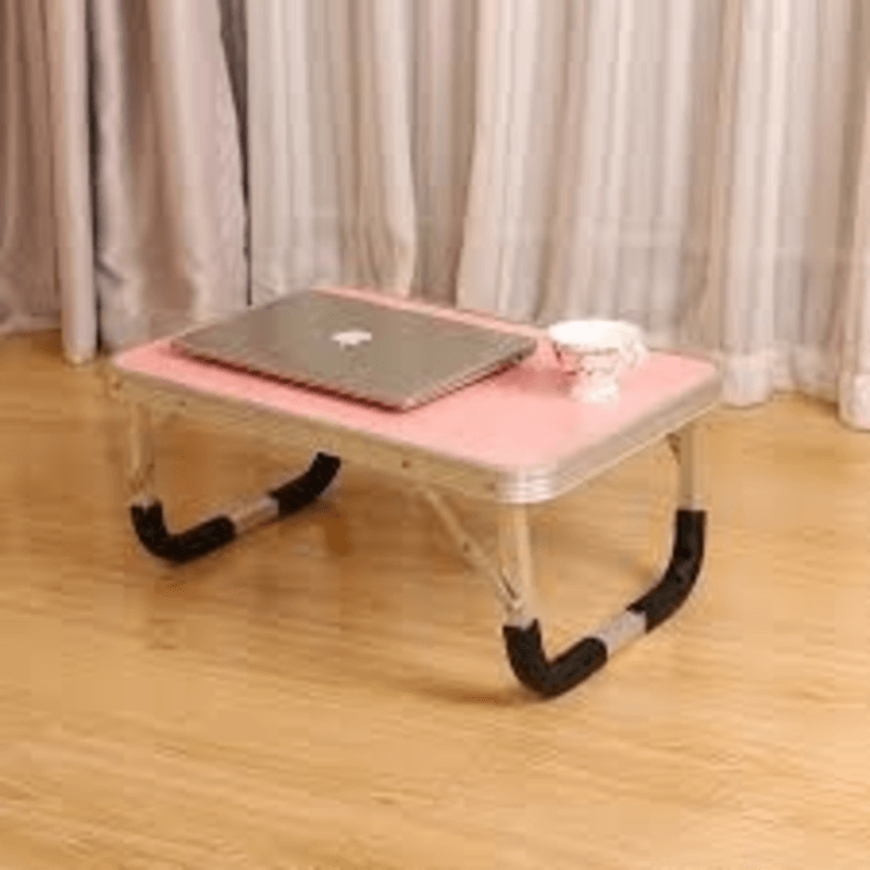 foldable-aluminium-indoor-bed-study-table-pink