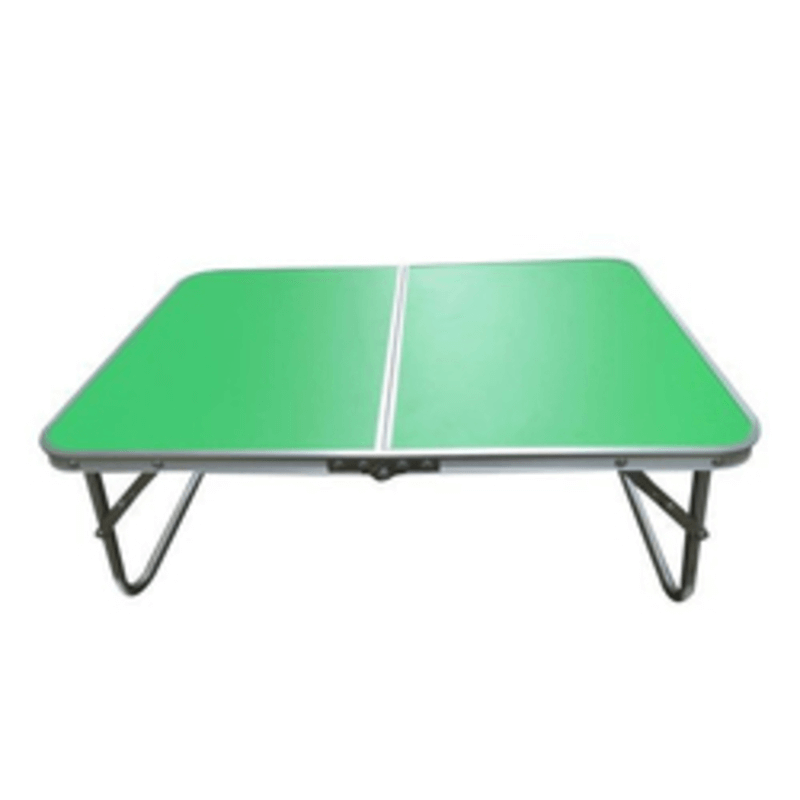 foldable-aluminium-indoor-bed-study-table-green