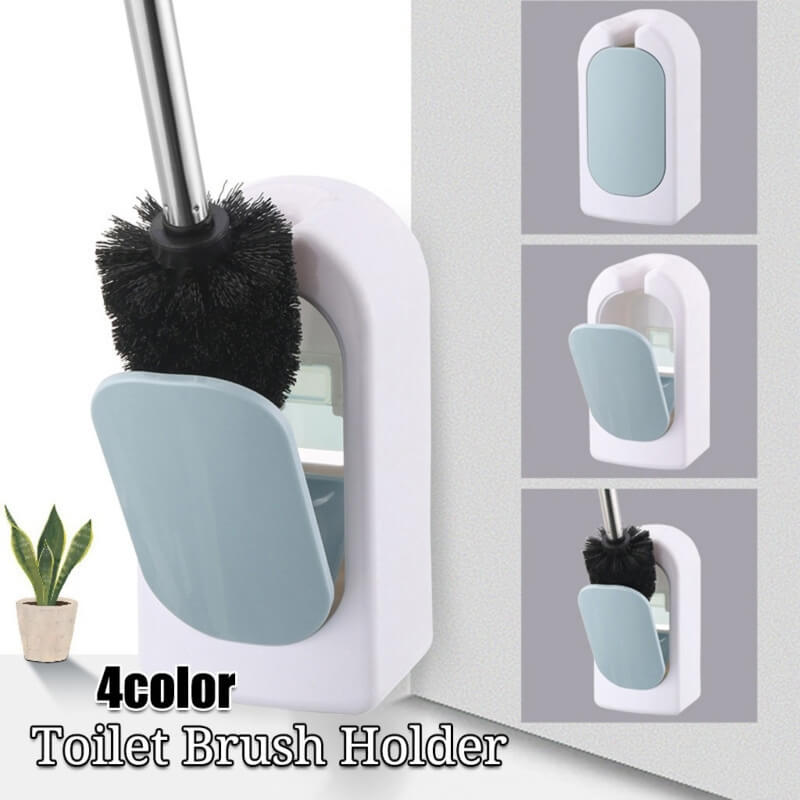 Toilet Brush With Wall Mounting Holder