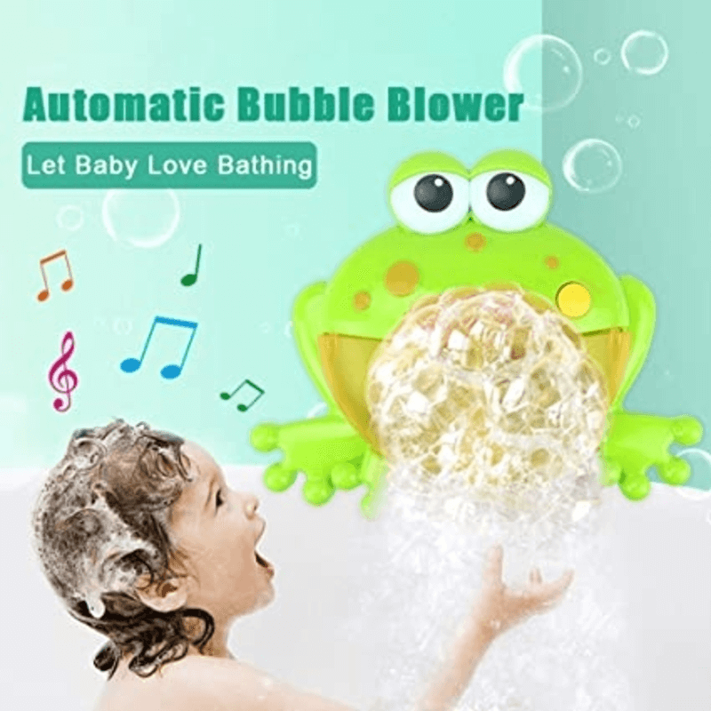 Automatic Bubble Blower Frog