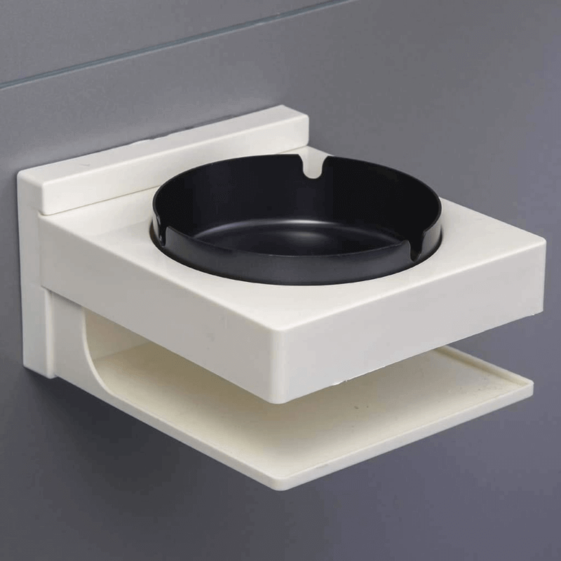 Ashtray for Bathroom Wall Mounted (Square)