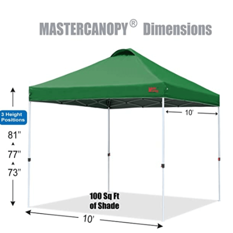 Outdoor Portable Pop Up Canopy Tent (Green)