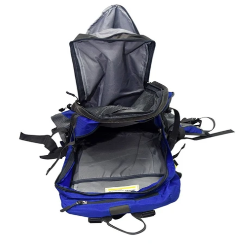 Pro Sport Travel Leisure Backpack With Rain Cover – Blue
