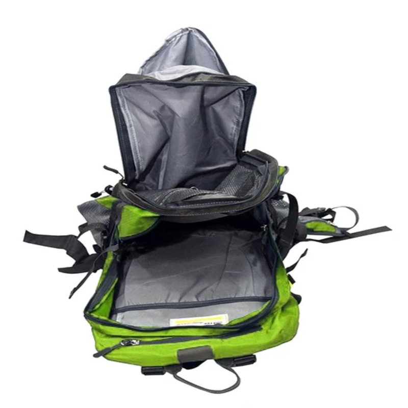 Pro Sport-Travel Leisure Backpack With Rain Cover - Green