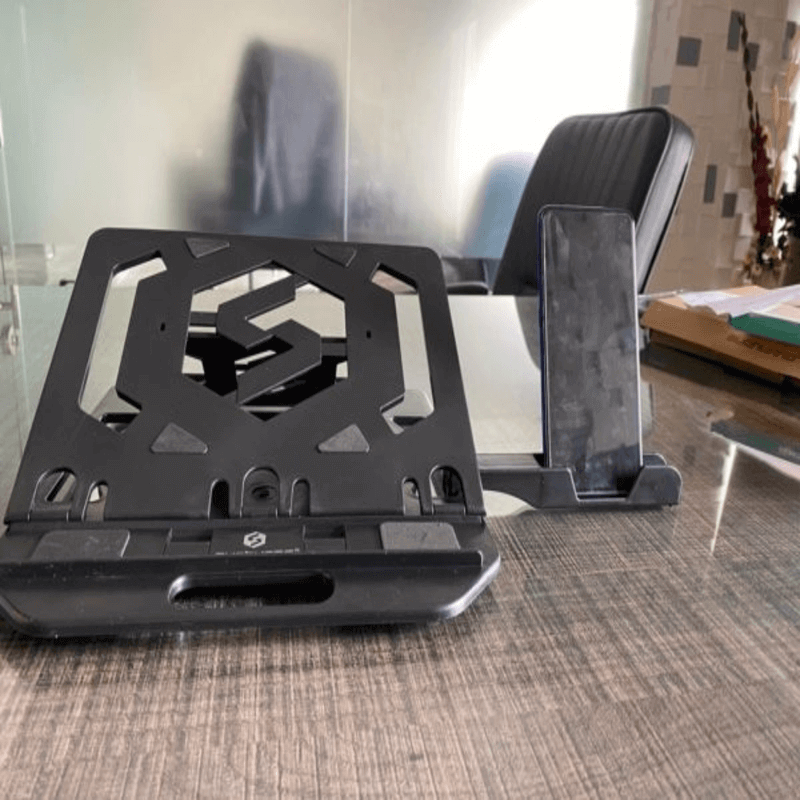 Laptop Folding Stand with Phone Holder